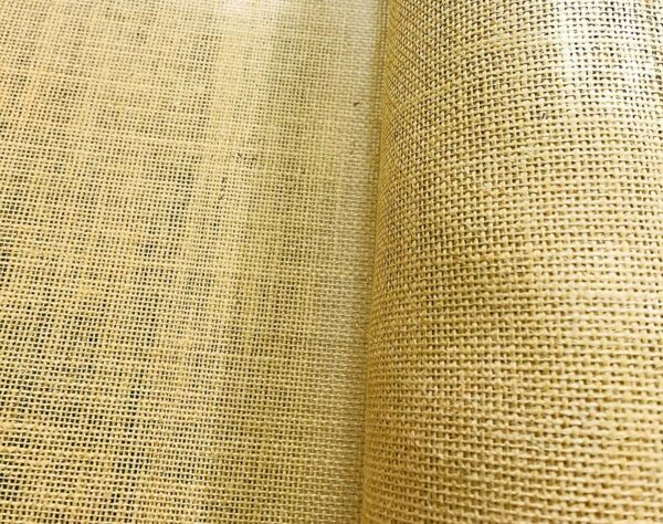 Burlap Fabric 38 40 Inches Wide 100% Jute Natural Eco Friendly
