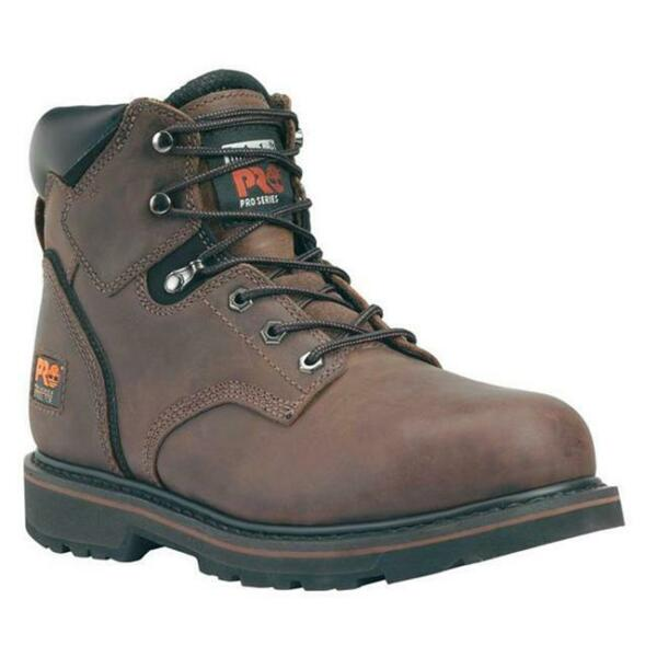 New Men#x27;s Timberland PRO 6quot; Pit Boss Steel Toe Boots $71.90