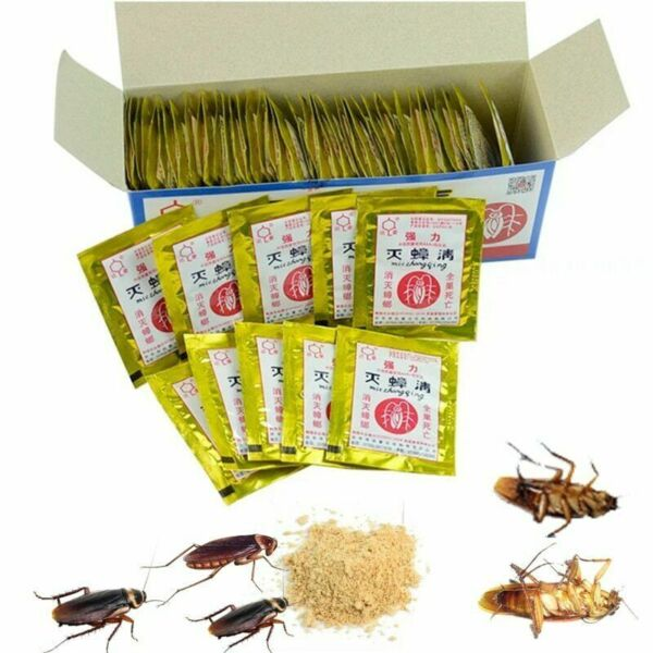 Cockroach Killer Powder How To Get Rid of Roach Best Killing Bait $12.95