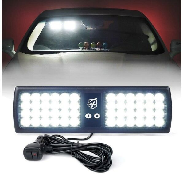 NEW WHELEN LED COMPATIBLE VISOR LEDS LIGHT ALL COLORS amp; VIDEO AVAILABLE 5YR WARR