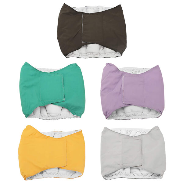 Pet Dog Diapers Belly Bands Male Dog Washable Physiological Belt Sanitary Pants $16.28