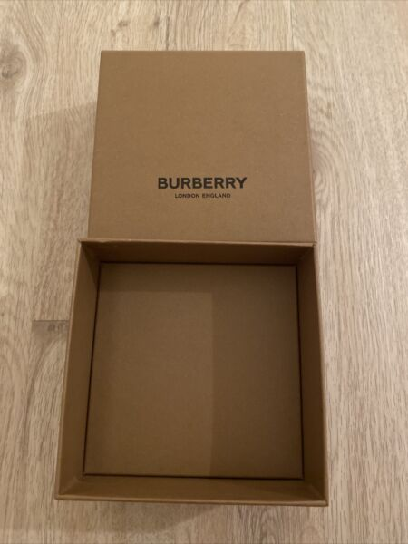 "Burberry Gift Box 5"" x 5"" x 2.5"" $9.99"
