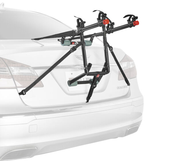 Allen Sports Deluxe 2 Bicycle Trunk Mounted Bike Rack Carrier 102DN 12 Inch Long $49.25