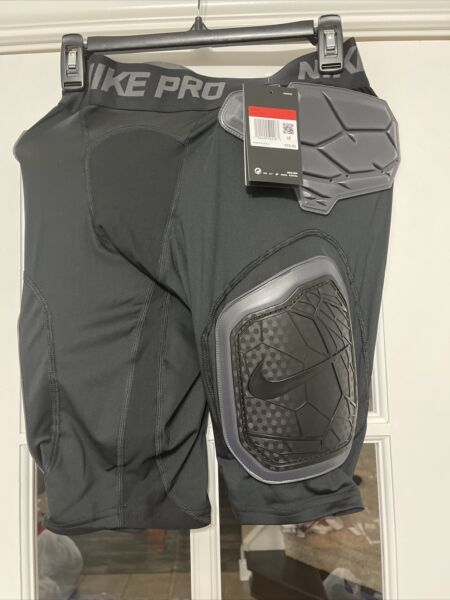 Nike Sport Hyperstrong Short Football Girdle Black AO6229 010 MENS SIZE LARGE