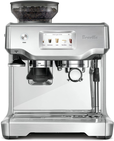 Mfg Sealed New Breville® the Barista Touch™ Brushed Stainless Steel BES880BSS