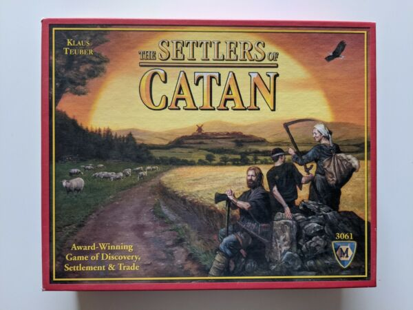 The Settlers of Catan board game 3061 by Klaus Teuber Mayfair Games