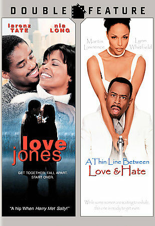 Love Jones Thin Line Between Love and Hate Good DVD Lawrence Martin Tate La