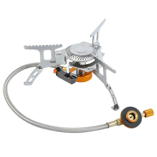 3500W Outdoor Backpacking Camping Hiking Mini Stove Portable Picnic Gas Burner