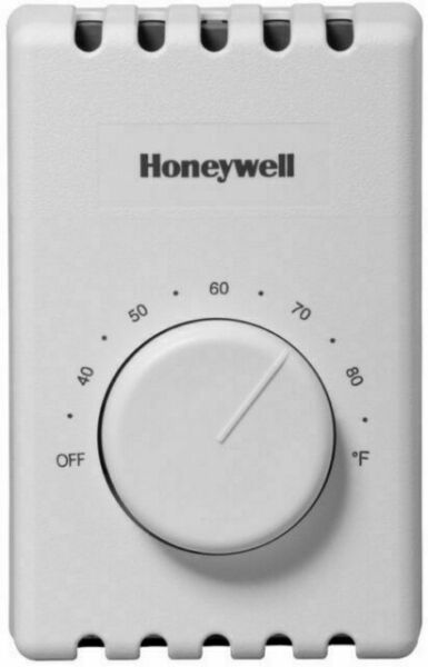 Honeywell CT410B1017 E1 Electric Heat Thermostat 4 Wire Easy Install $14.25