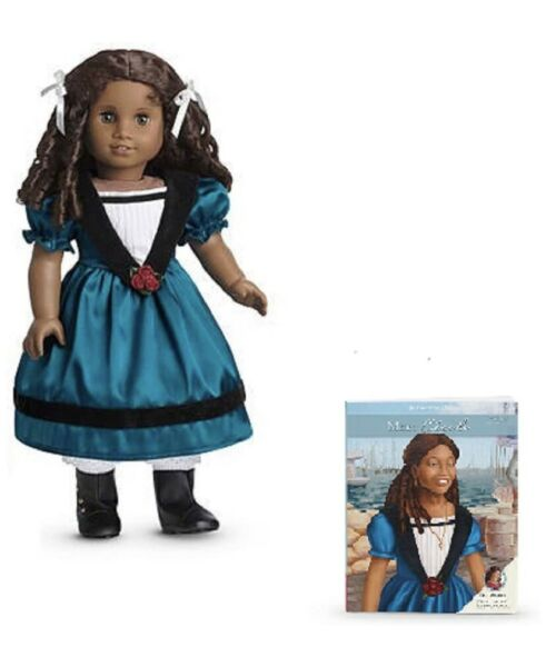 New Retired American Girl 18 inch African American Cecile Doll w book NRFB