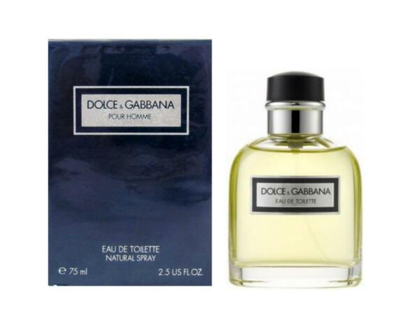 DOLCE amp; GABBANA POUR HOMME quot;Vintage Made In Italyquot; 2.5 Oz EDT Spray New amp; Sealed