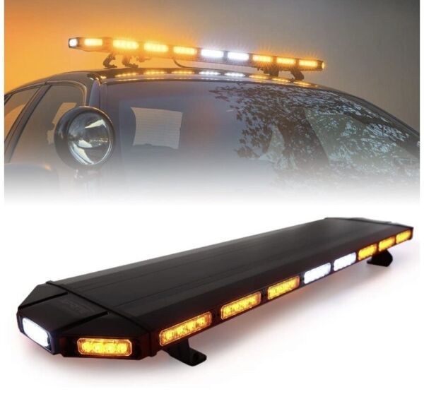 "NEW WHELEN LED COMPATIBLE 48"" A A LEDS LIGHTBAR 5YR WARRANTY TOW TRUCK SNOW PLOW"