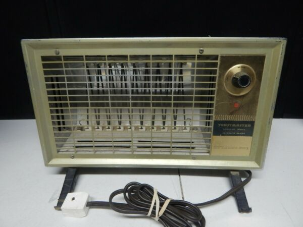 TOASTMASTER portable space HEATER vintage instant heat electric 15quot;x9quot; $49.99