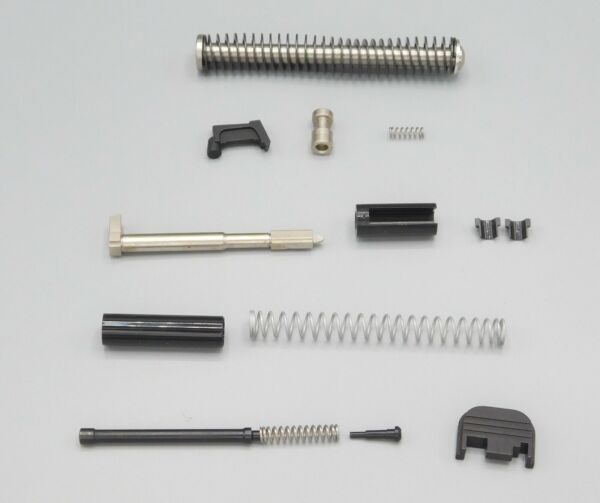 KG Complete Slide Parts Kit With Stainless Steel Recoil Rod For Glock 19 Gen 1 3