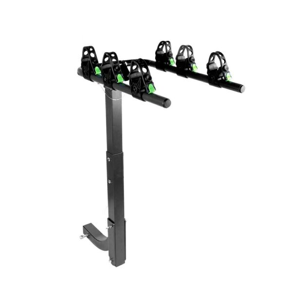 ZEMANOR 3 Hitch Mount Bike Rack Bicycle Carrier Cars SUV Trucks Strong All Steel $66.50