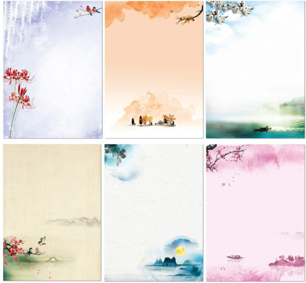 Stationary Set Japanese Stationery Letter Writing Paper 48 Pack Stationary Pape $17.99