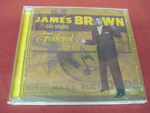 James Brown The Singles Volume One – The Federal Years 1956 1960 2 CD Set
