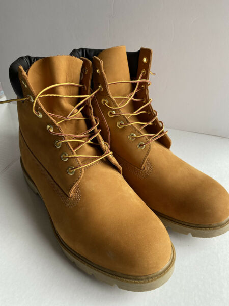 Timberland NEW 6 Inch 18094 Basic Padded Collar Waterproof Men#x27;s Boots Size 15 $99.98