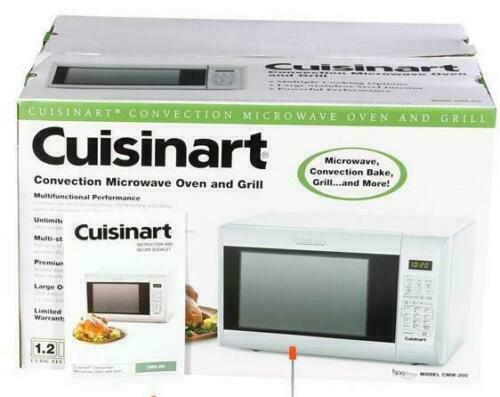 New Cuisinart Convection Microwave Oven amp; Grill CMW 200