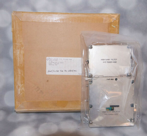 High Band Amplifier amp; Filter Unit P C 721620 802 for PRC 68 126 128 NOS $150.00