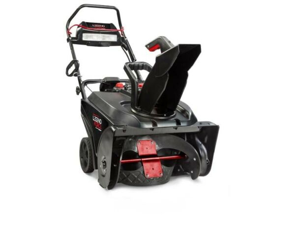 Legeng Force 22 In. Single Stage Gas Snow Blower W Electric Start and Headlight