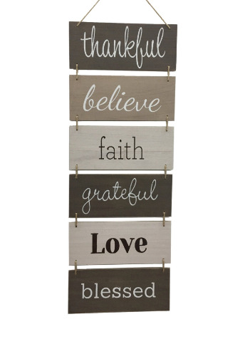 Wall Décor Sign Welcome Vertical Wall Art Decorations Rustic Home Accessories $27.95