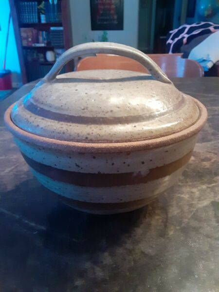 KP Stoneware Crock With Lid