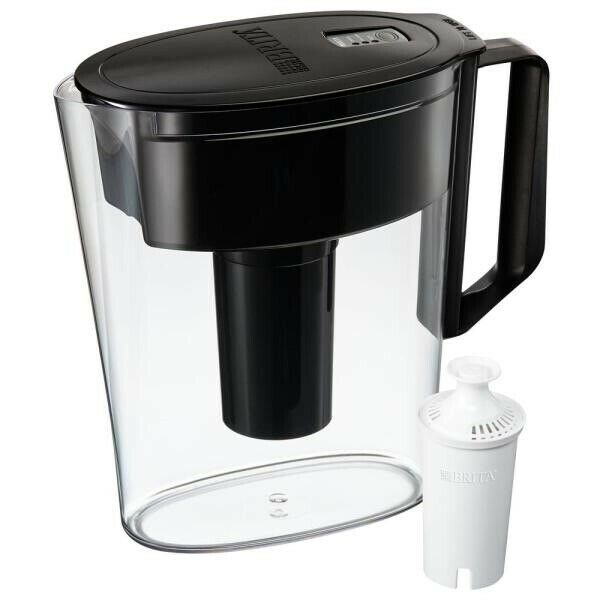 Brita SOHO 5 Cup Black Water Filter Pitcher
