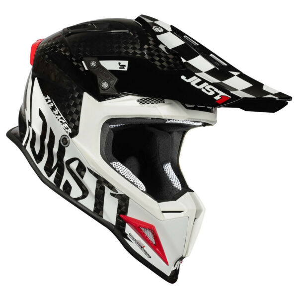 JUST1 J12 Pro Racer White Carbon Gloss CHOOSE SIZE $429.99