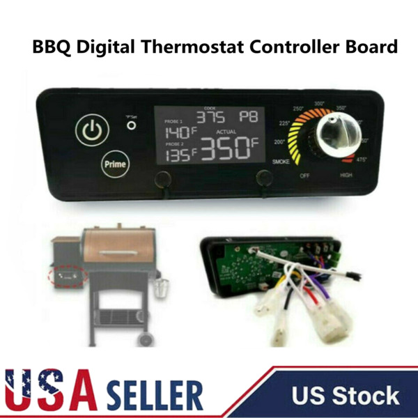 BBQ Digital Thermostat Controller Board LCD Display For PIT Boss P9 Wood Oven $37.99