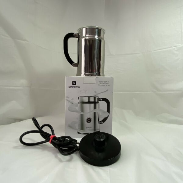 Nespresso Aeroccino Plus 3192 US Automatic Electric Milk Frother Stainless