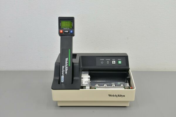 Welch Allyn MicroTymp 2 Tympanometer REF 23640 w Printer Charger REF 71170