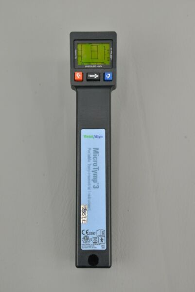 Welch Allyn MicroTymp 3 Tympanometer REF 74227