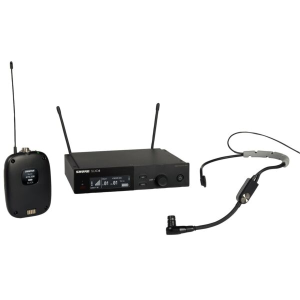 Shure SLXD14 SM35 Wireless System with SM35 Headset Mic H55 Band $749.00
