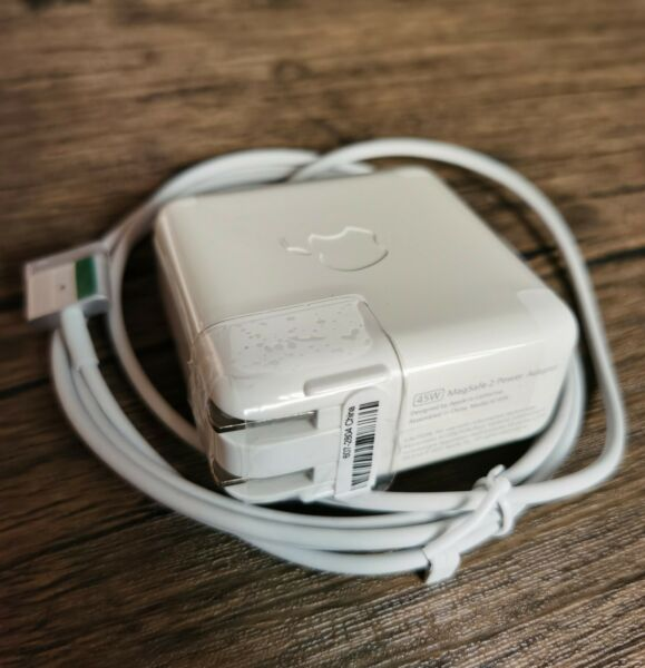 45W MagSafe 2 Power Charger Adapter T Tip For MacBook Air 11#x27;#x27;13quot;A1465 A1436 US