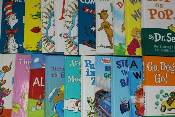 10 Dr. Seuss Beginner Bright and Early Books Random amp; Unsorted Book Lot $19.95