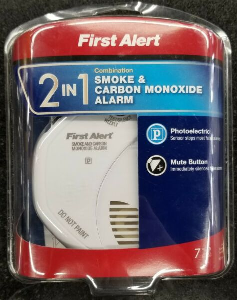 First Alert SCO5CN Battery Operated Combo Smoke amp; Carbon Monoxide Alarm 2 in 1 $30.00