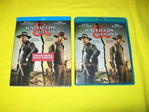 HATFIELDS amp; McCOYS BLURAY WITH SLIPCOVER 2 DISC SET KEVIN COSTNER BILL PAXTON $11.95