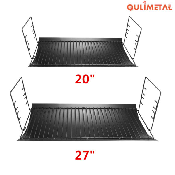 20quot; 27quot; Ash Drip Pan Fire Grate Hanger for Chargriller 5050 5072 1224 1324