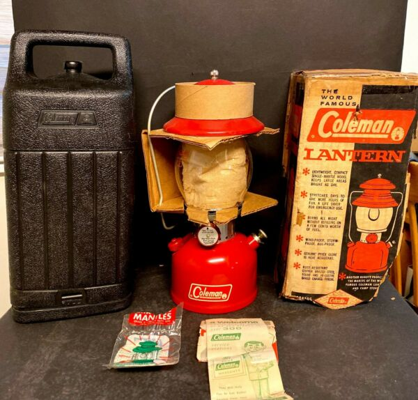 Vintage COLEMAN Unfired Lantern Model 200A Marked 66 On Bottom USA $1249.99