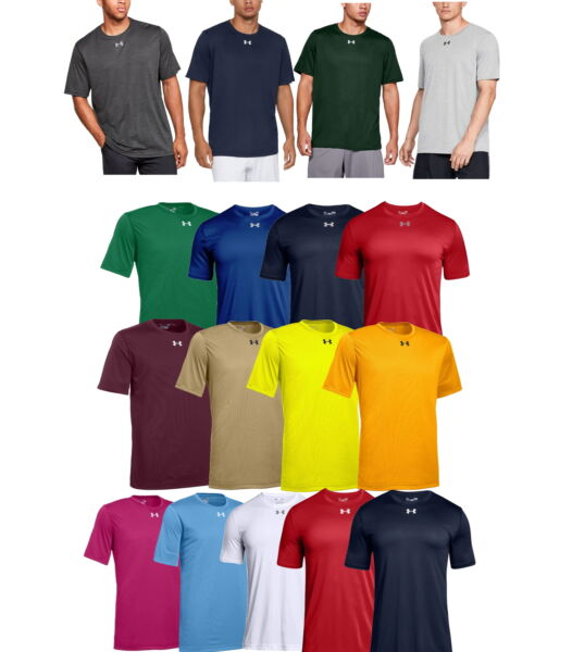 Under Armour 1305775 Men#x27;s UA Tech Locker Tee 2.0 T Shirt Short Sleeve Athletic