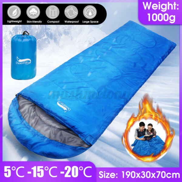 Waterproof Sleeping Bag Outdoor Travel Camping Hiking Ultralight Warm US $24.69