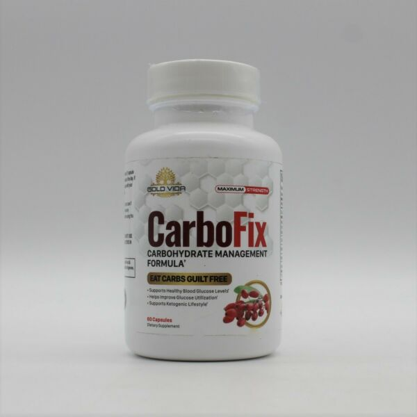 CarboFix Carbohydrate Management Formula 60 Capsules Supports Keto Lifestyle $28.98