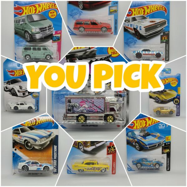 Hot Wheels Mainline YOU PICK 2021 and Older Combined Shipping Super Deal $5.00