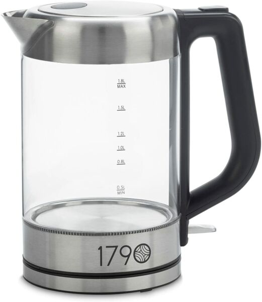 Electric Water Kettle 1.8 Liter Cordless Stainless Steel $29.98