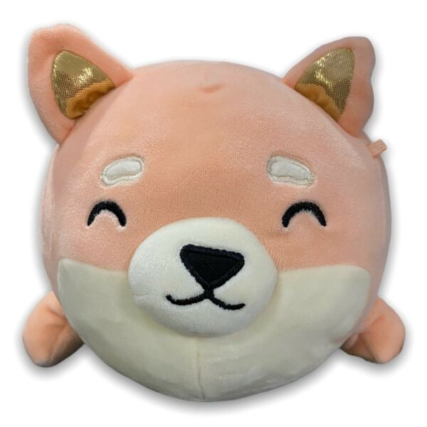 Justice Corgi Dog Cora Small 12quot; Squishmallow Plush Peach Scented Pillow Stuffed $23.99