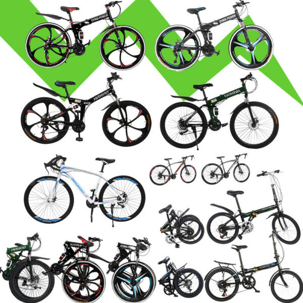 Foldable Adult 20#x27;#x27; 26#x27;#x27; 7 21 Speed Folding Bike Women Men Bicycle Exercise Bike $135.88