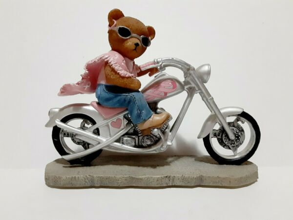 Faithful Fuzzies On The Road For Cure Sculpture Full Throttle Commitment $25.50