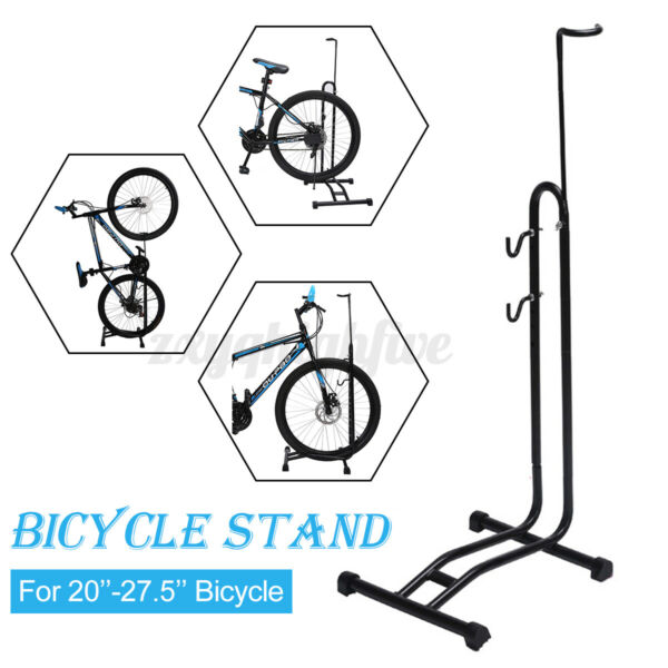 Coated Bicycle Bike Floor Stand Display Rack Storage Holder Repair Work Stand US $45.51