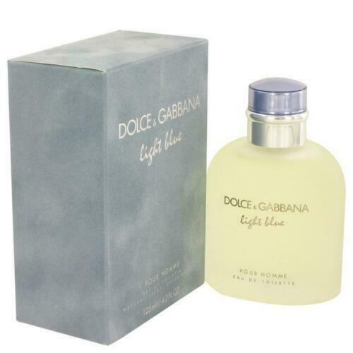 Light Blue by Dolce amp; Gabbana 4.2 oz Eau De Toilette Spray for Men
